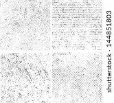 grunge set stripe. vector...   Shutterstock .eps vector #144851803