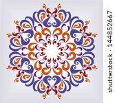 ornamental round pattern....
