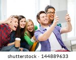 education and technology  ... | Shutterstock . vector #144889633