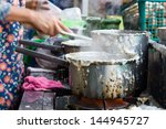 the preparation of rice... | Shutterstock . vector #144945727