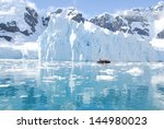 Iceberg off coast of Antarctica