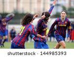 barcelona   jan 31  f.c... | Shutterstock . vector #144985393