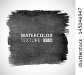 hand drawn watercolor grunge... | Shutterstock .eps vector #145046947