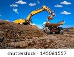 Industrial Excavator Loading...
