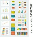 infographic elements. | Shutterstock .eps vector #145077187