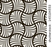 seamless pattern. stylish... | Shutterstock .eps vector #145104553