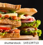 sandwich | Shutterstock . vector #145139713