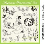 Vector Set Of Ornaments And...
