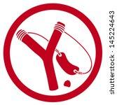 slingshot symbol (slingshot badge, slingshot sign, slingshot icon)