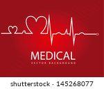 Medical Design Over Red...