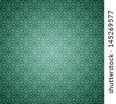 Soft Teal Shaded Damask Pattern