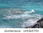 beautiful seascape. composition ... | Shutterstock . vector #145365793