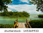 scenic view of the florida keys ... | Shutterstock . vector #145369933