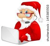 Cartoon Character Santa Claus...