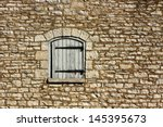 Old Stone Castle Wall Background