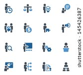 business icons | Shutterstock .eps vector #145426387