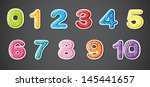 illustration of the eleven... | Shutterstock .eps vector #145441657