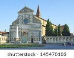 church of santa maria novella ... | Shutterstock . vector #145470103