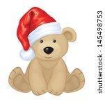 Vector Of Cute Brown Bear In...
