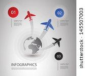 infographic design | Shutterstock .eps vector #145507003