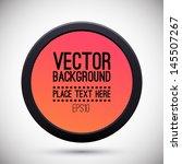 geometric concept. logo design. ... | Shutterstock .eps vector #145507267