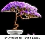 Abstract Fractal Bonsai Tree...