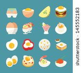 Egg Menu  Food Icons