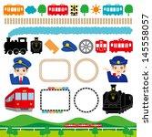 railroad | Shutterstock .eps vector #145558057