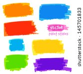 bright rainbow colors vector... | Shutterstock .eps vector #145701833