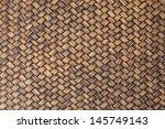 Native Style Bamboo Wall.