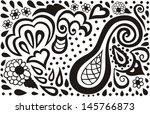 Ornamental seamless pattern for paisley. Vector illustration.