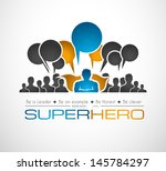 worldwide communication and... | Shutterstock .eps vector #145784297