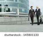 Full Length Of Businessman And...