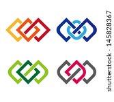 "design vector logo template. ""c""... | Shutterstock .eps vector #145828367"