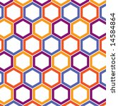 retro geometric background | Shutterstock . vector #14584864