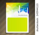 ramadan festival template... | Shutterstock .eps vector #145944113