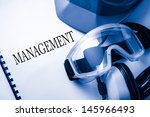 register with goggles ... | Shutterstock . vector #145966493