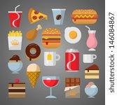 food | Shutterstock .eps vector #146084867