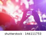 close up of photographing with... | Shutterstock . vector #146111753