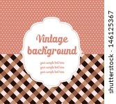 vintage colored background | Shutterstock .eps vector #146125367