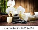 Zen Basalt Stones And Bamboo O...