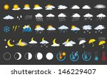 weather icons | Shutterstock .eps vector #146229407