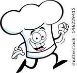 cartoon illustration of a chef... | Shutterstock . vector #146229413