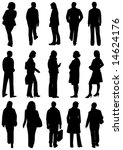 illustration of people from... | Shutterstock .eps vector #14624176