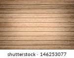template of wood board for... | Shutterstock . vector #146253077