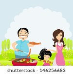 a vector illustration of a... | Shutterstock .eps vector #146256683