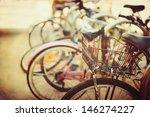 Vintage Bicycle Detail Close U...