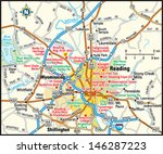 Reading, Pennsylvania area map