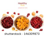 fresh healthy fruits  apricots  ... | Shutterstock . vector #146309873