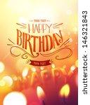 Birthday Card Design With...